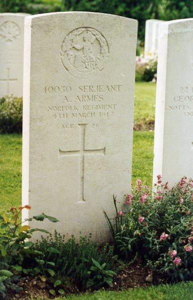 Albert's grave