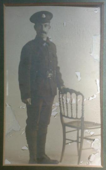 Ernest in Uniform