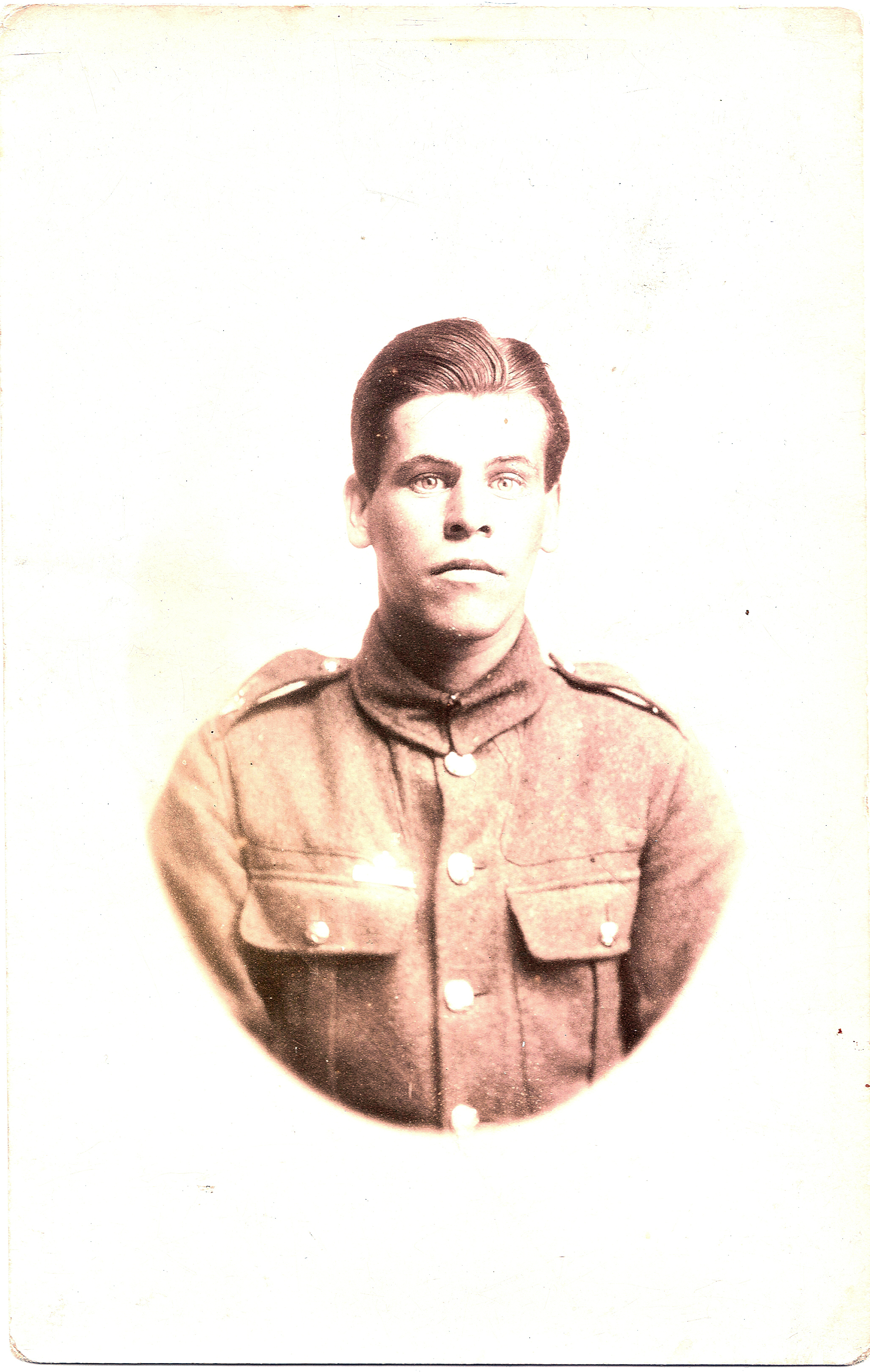 George Alfred Catchpole in uniform