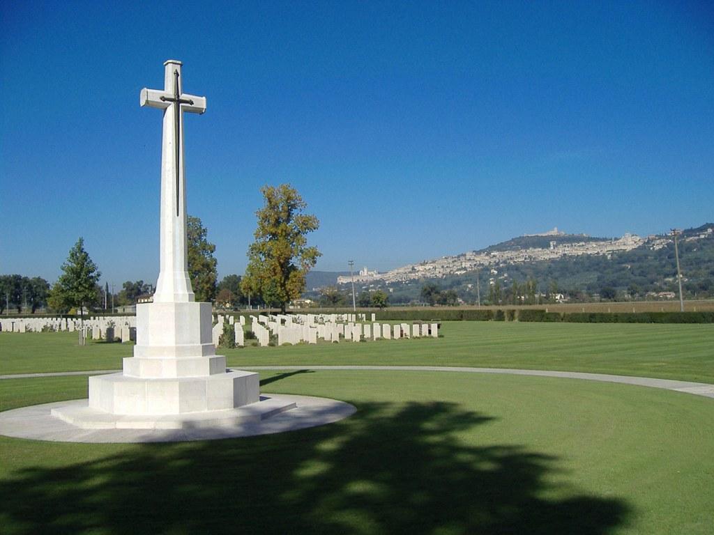 Assisi War Cemetery - Perugia - Umbria - Italy